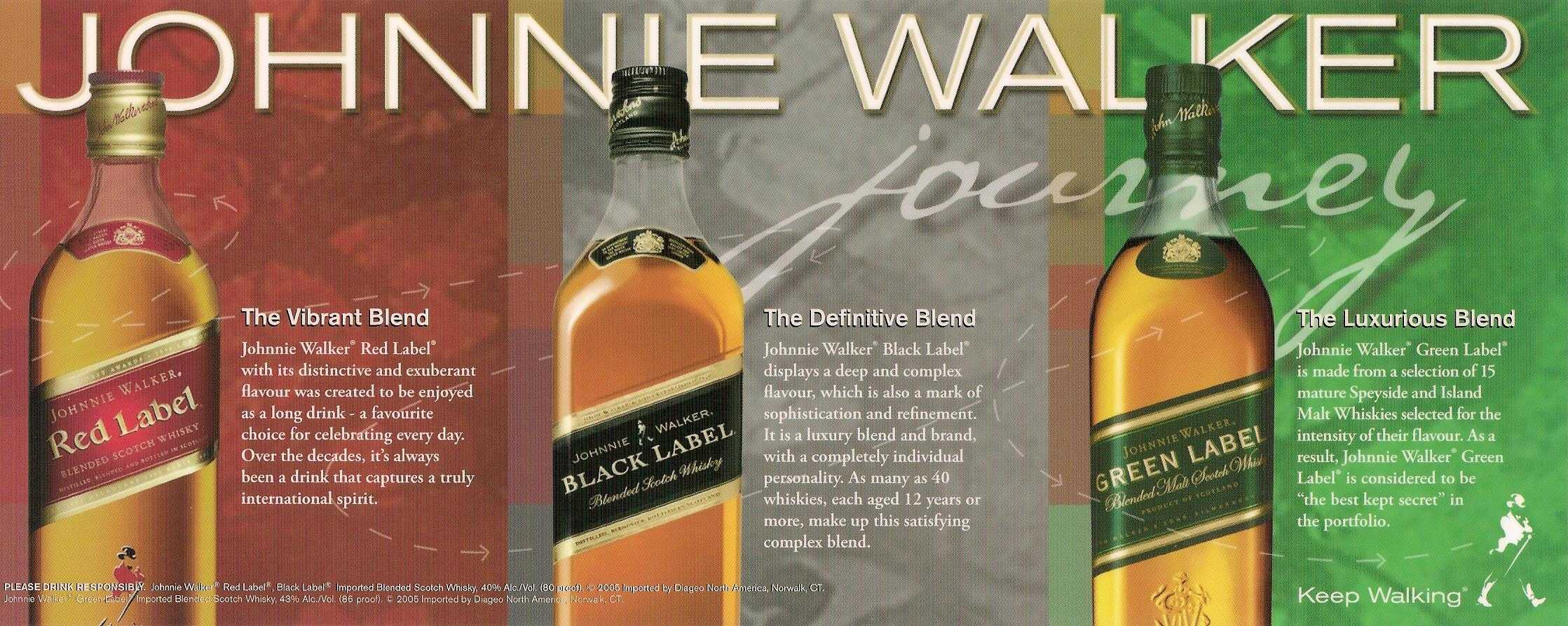 Johnny Walker Journey Cuvee Marketing